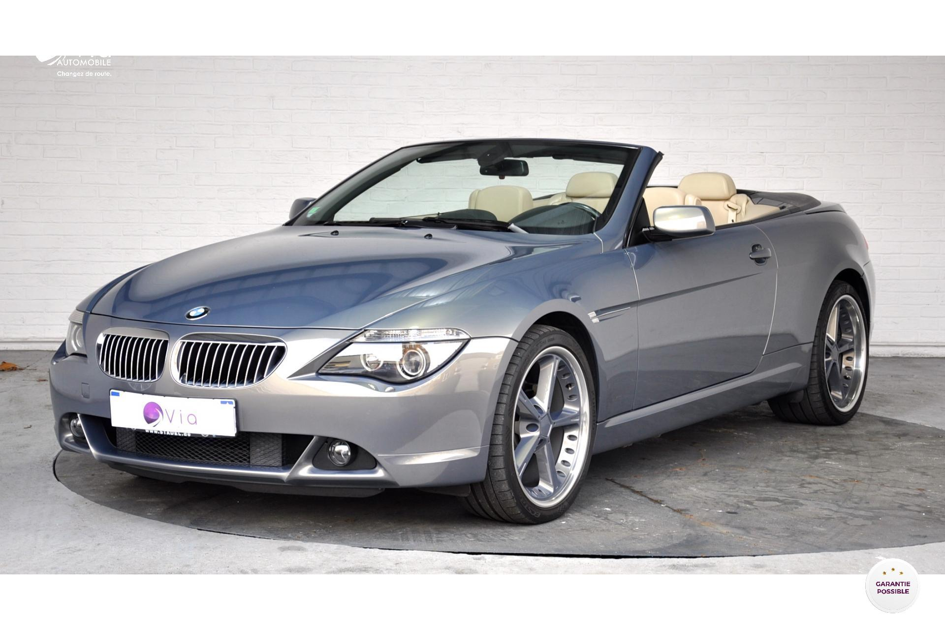 BMW-SERIE 6-630i Cabriolet E64 Pack Luxe