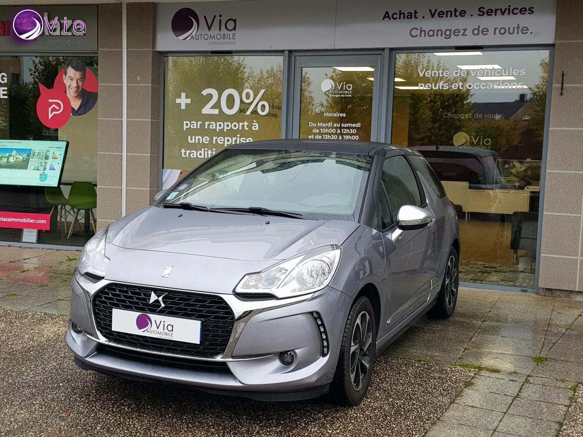CITROEN DS3 DS AUTOMOBILES DS 3 1.2 PURETECH 110 CONNECTED CHIC BVA