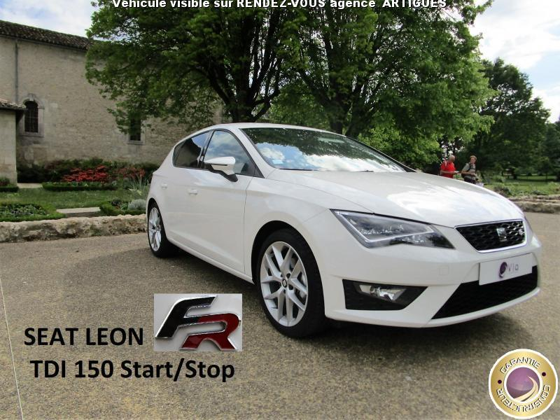 voiture seat leon occasion diesel 2015 7000 km. Black Bedroom Furniture Sets. Home Design Ideas