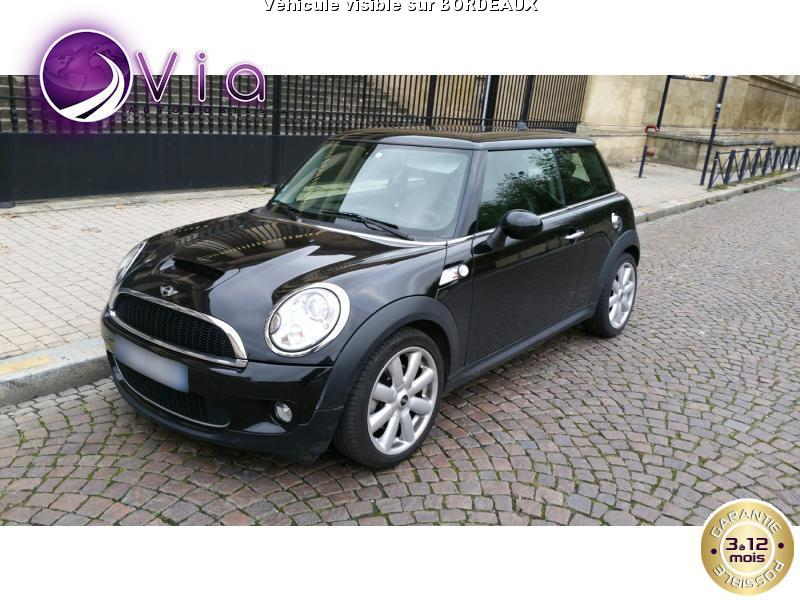 voiture mini cooper s occasion essence 2009 89500 km 13450 bordeaux gironde. Black Bedroom Furniture Sets. Home Design Ideas