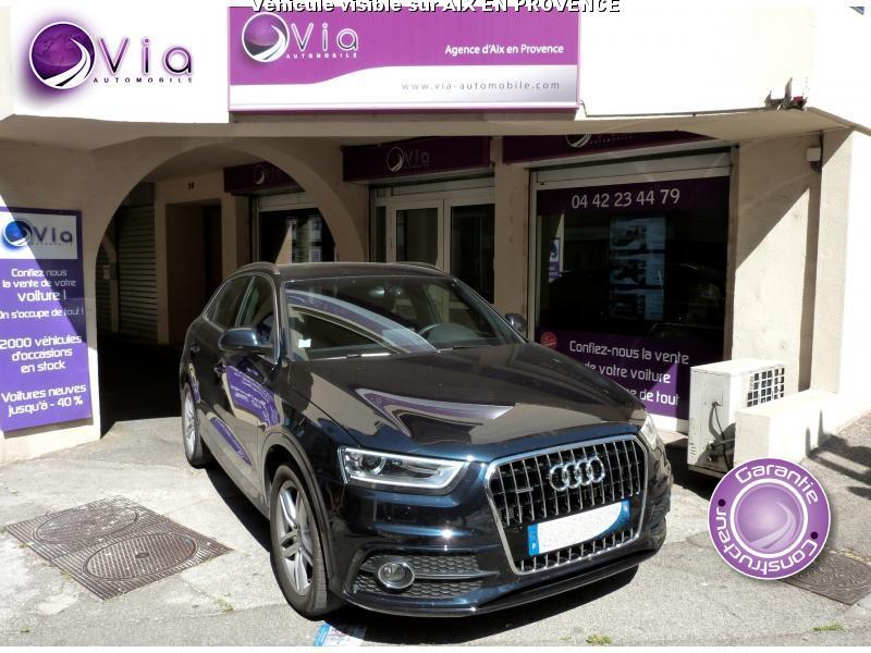 voiture audi q3 occasion diesel 2014 35000 km. Black Bedroom Furniture Sets. Home Design Ideas