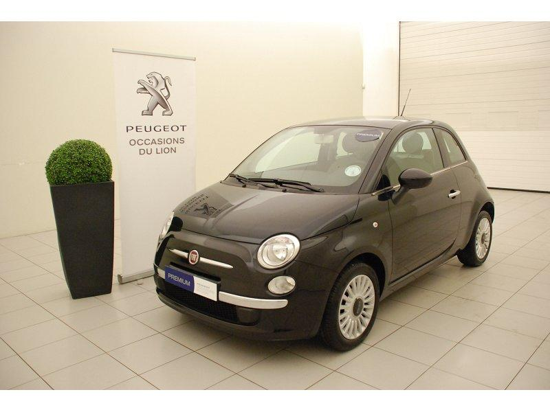 voiture fiat 500 occasion essence 2012 35671 km. Black Bedroom Furniture Sets. Home Design Ideas