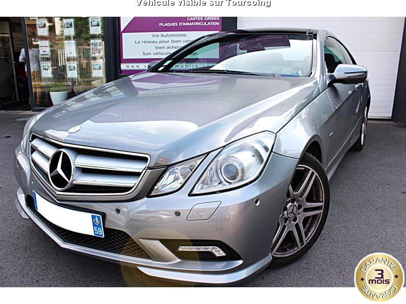 voiture mercedes classe e occasion diesel 2009 153000 km 21990 tourcoing nord. Black Bedroom Furniture Sets. Home Design Ideas