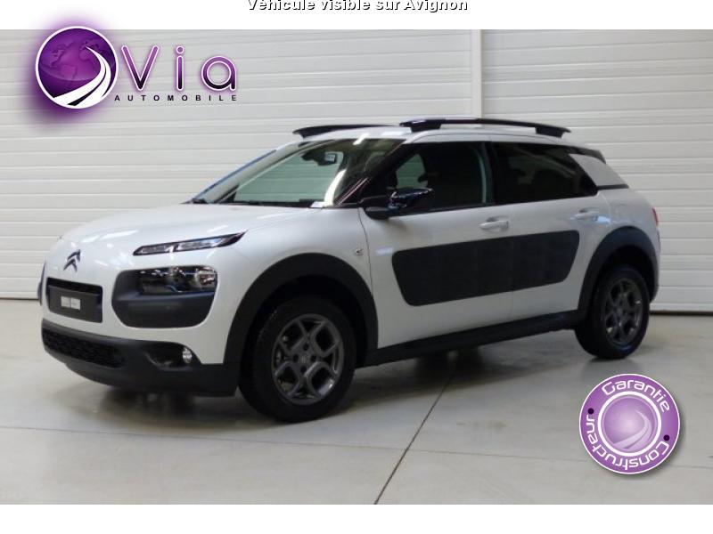 voiture citro n c4 cactus occasion diesel 2015 10 km. Black Bedroom Furniture Sets. Home Design Ideas