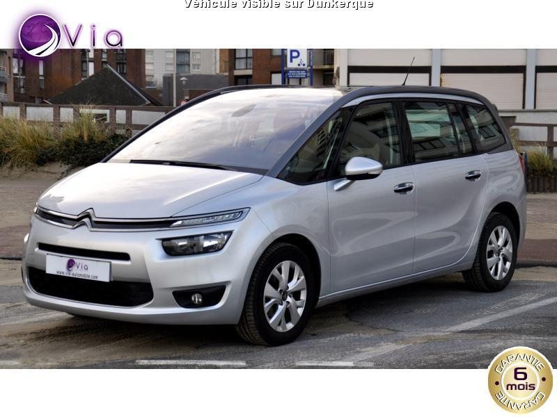 voiture citro n grand c4 picasso occasion diesel 2014 42000 km 19390 dunkerque nord. Black Bedroom Furniture Sets. Home Design Ideas