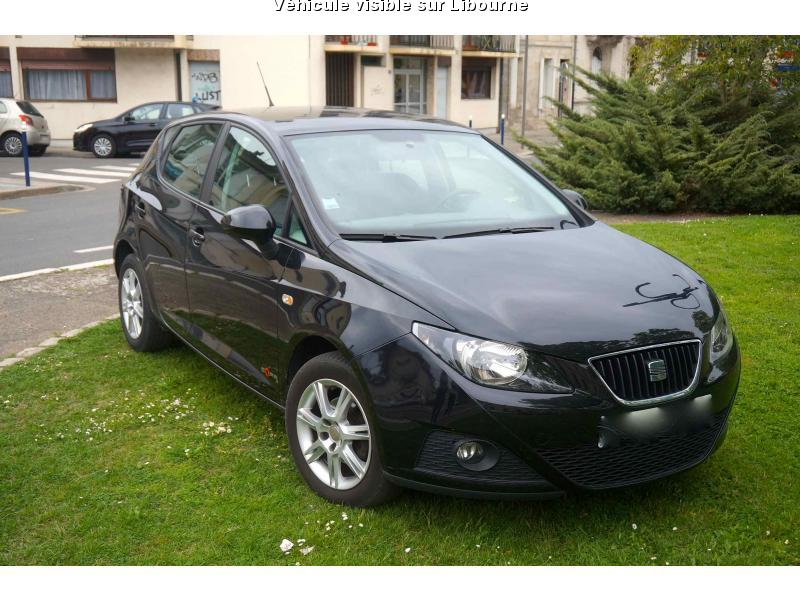 voiture seat ibiza occasion diesel 2011 52000 km. Black Bedroom Furniture Sets. Home Design Ideas