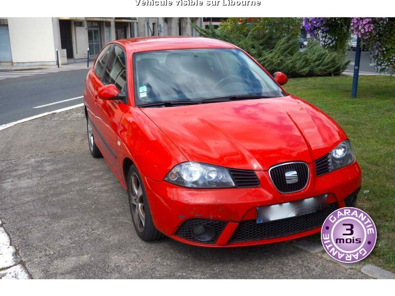 voiture seat ibiza occasion diesel 2006 170000 km 3490 artigues pr s bordeaux. Black Bedroom Furniture Sets. Home Design Ideas