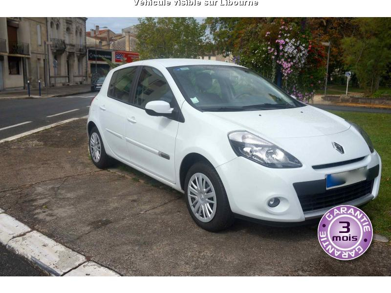 voiture renault clio iii occasion diesel 2012 31123 km 8990 libourne gironde. Black Bedroom Furniture Sets. Home Design Ideas