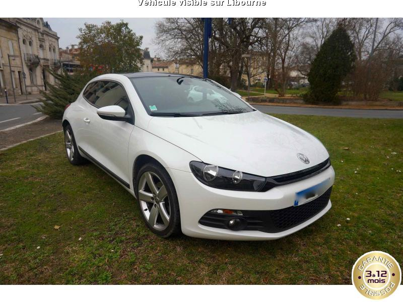 voiture volkswagen scirocco occasion diesel 2015 34000 km 24000 libourne gironde. Black Bedroom Furniture Sets. Home Design Ideas
