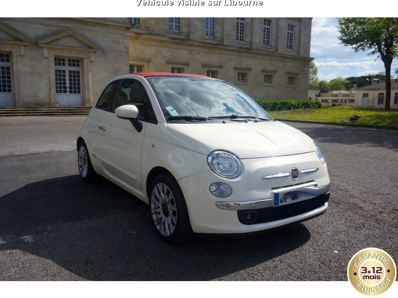 voiture fiat 500 occasion 2012 47000 km 9490. Black Bedroom Furniture Sets. Home Design Ideas