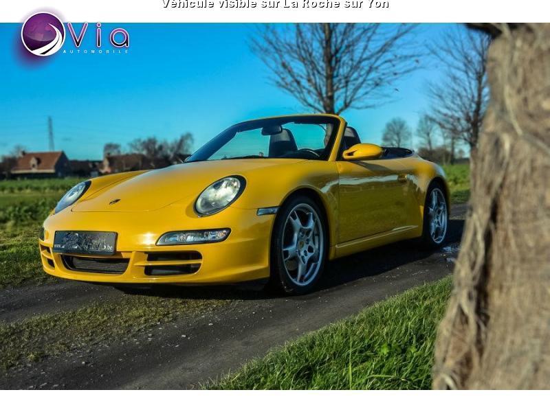 voiture porsche 911 carrera 3 2 occasion 2005 62000 km 59990 la roche sur yon vend e. Black Bedroom Furniture Sets. Home Design Ideas