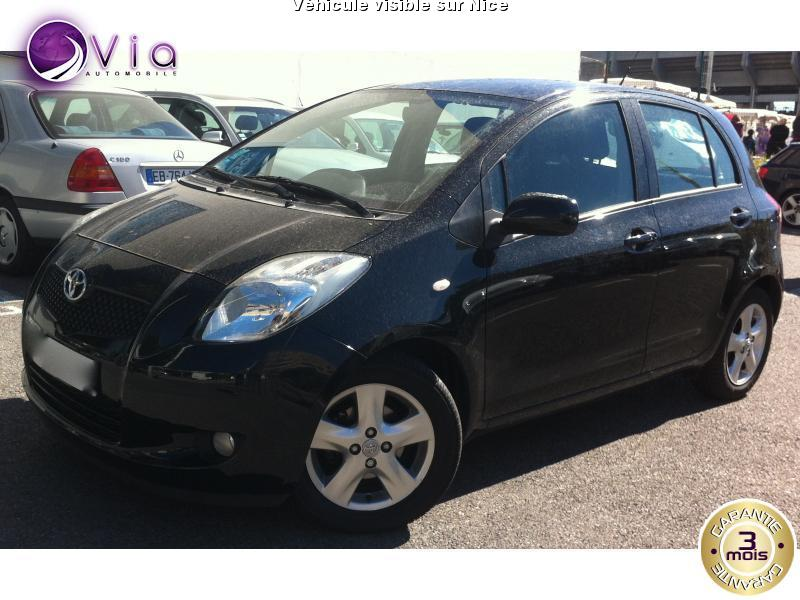 voiture toyota yaris occasion 2008 57000 km 6500. Black Bedroom Furniture Sets. Home Design Ideas