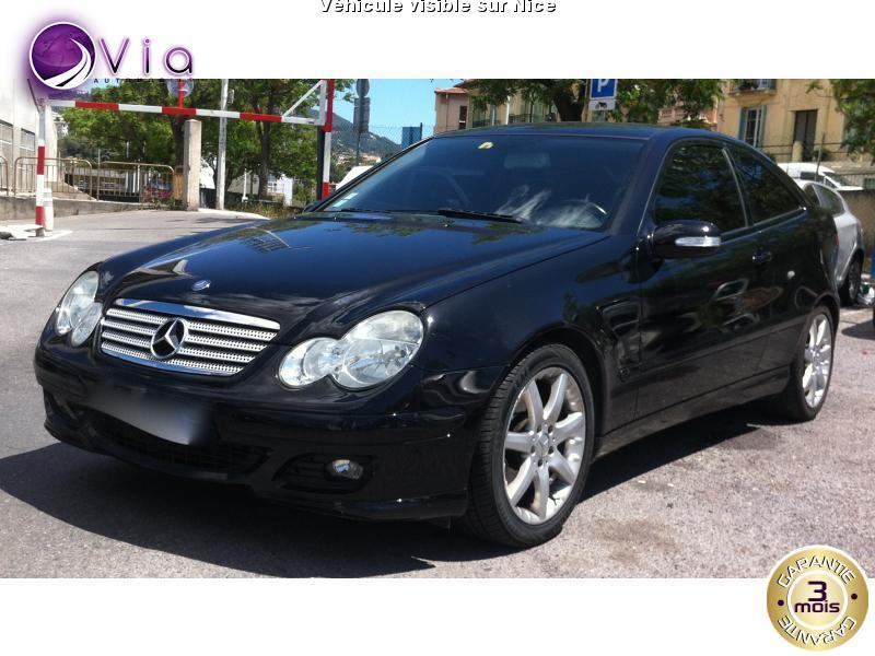 voiture mercedes classe c occasion diesel 2007 142000 km 9200 nice alpes maritimes. Black Bedroom Furniture Sets. Home Design Ideas