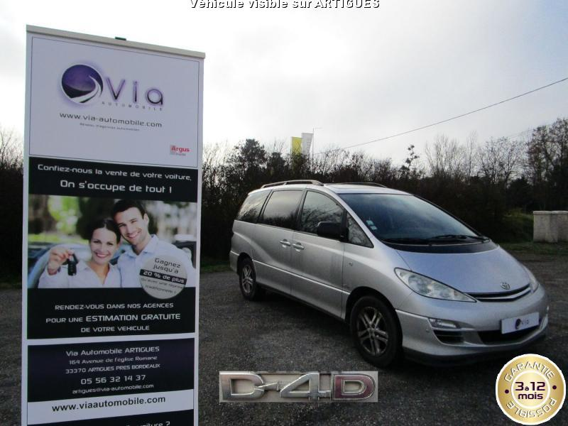 voiture toyota previa occasion diesel 2005 124500 km. Black Bedroom Furniture Sets. Home Design Ideas
