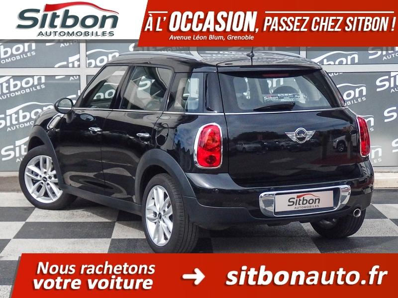 voiture mini countryman occasion diesel 2012 76500 km 17980 grenoble is re. Black Bedroom Furniture Sets. Home Design Ideas