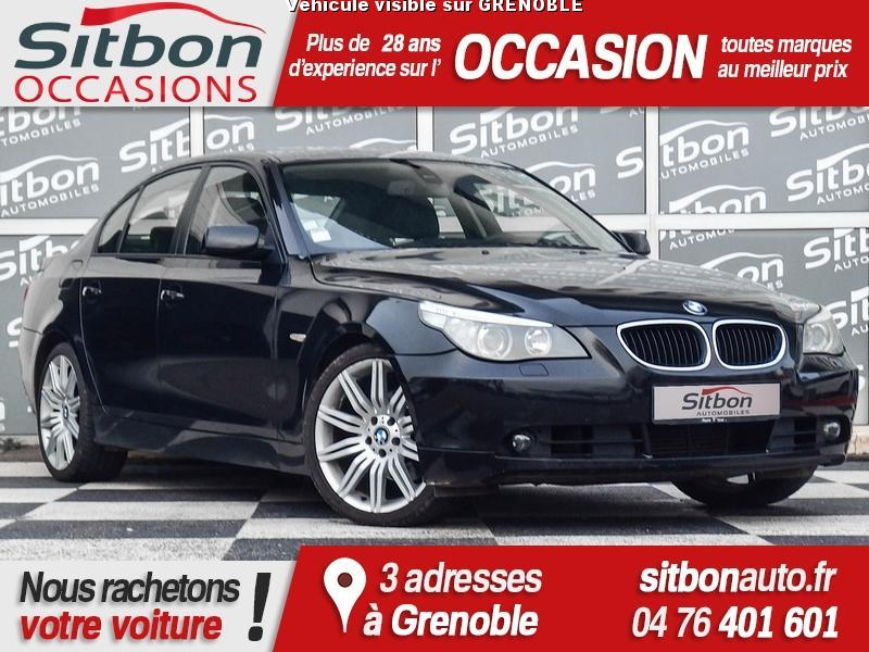 voiture bmw s rie 5 occasion diesel 2004 213312 km 9980 grenoble is re 992731469947. Black Bedroom Furniture Sets. Home Design Ideas
