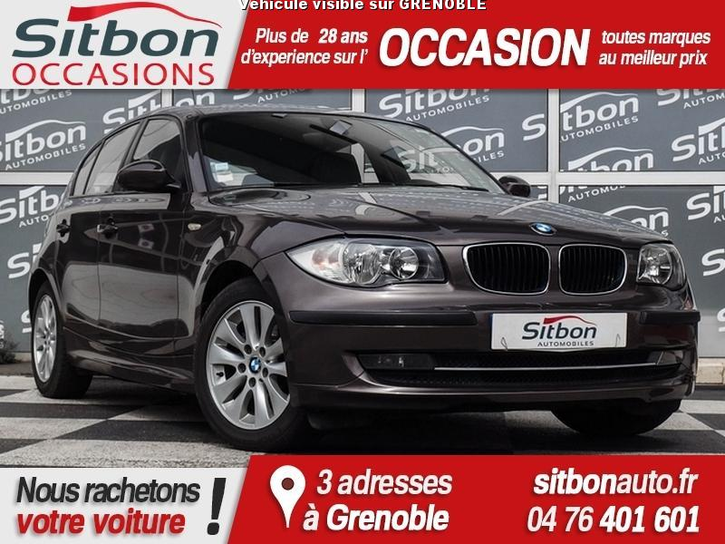 voiture bmw s rie 1 occasion diesel 2008 133637 km 9980 grenoble is re 992732136597. Black Bedroom Furniture Sets. Home Design Ideas