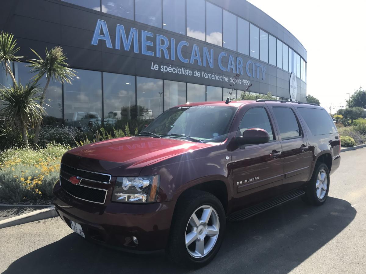 Chevrolet Suburban, le SUV familial américain - American Car City