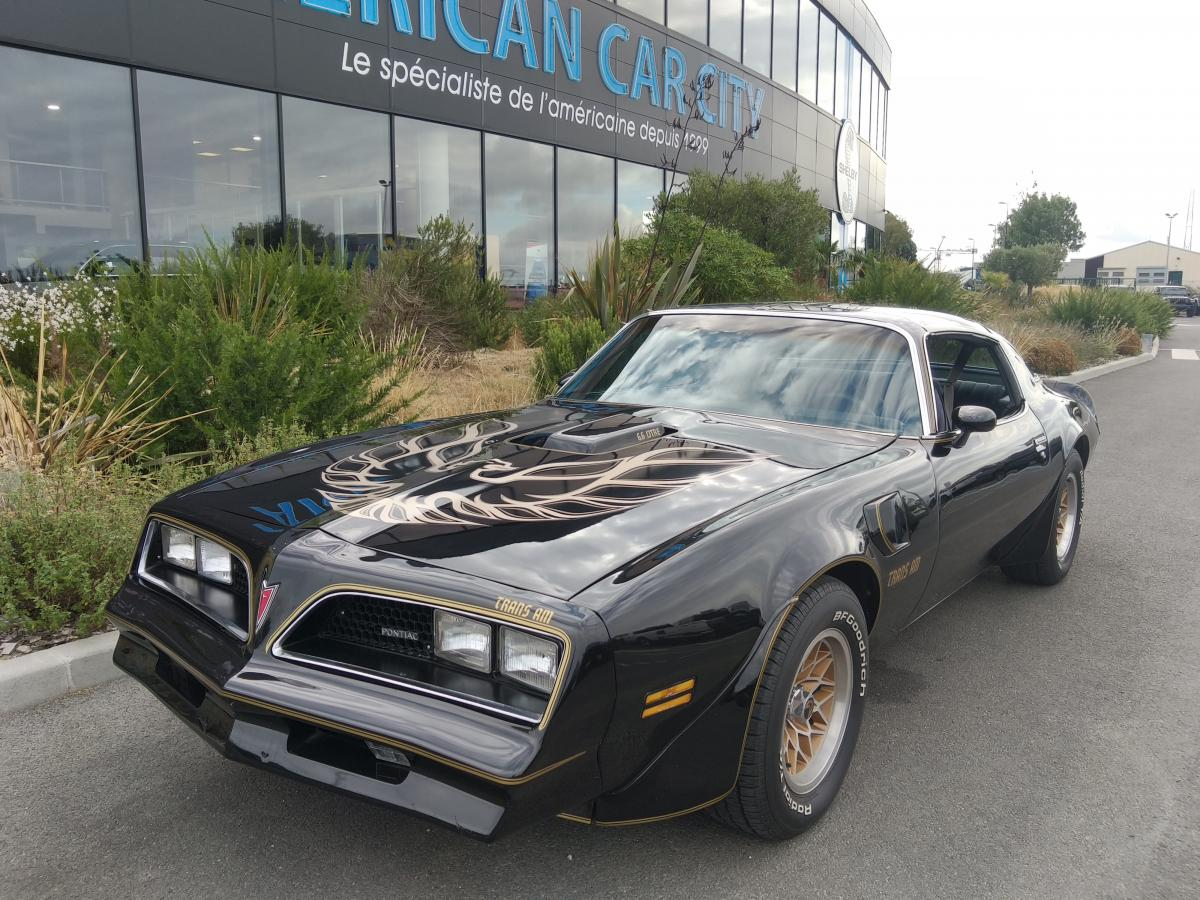 PONTIAC FIREBIRD TRANS AM L78 400