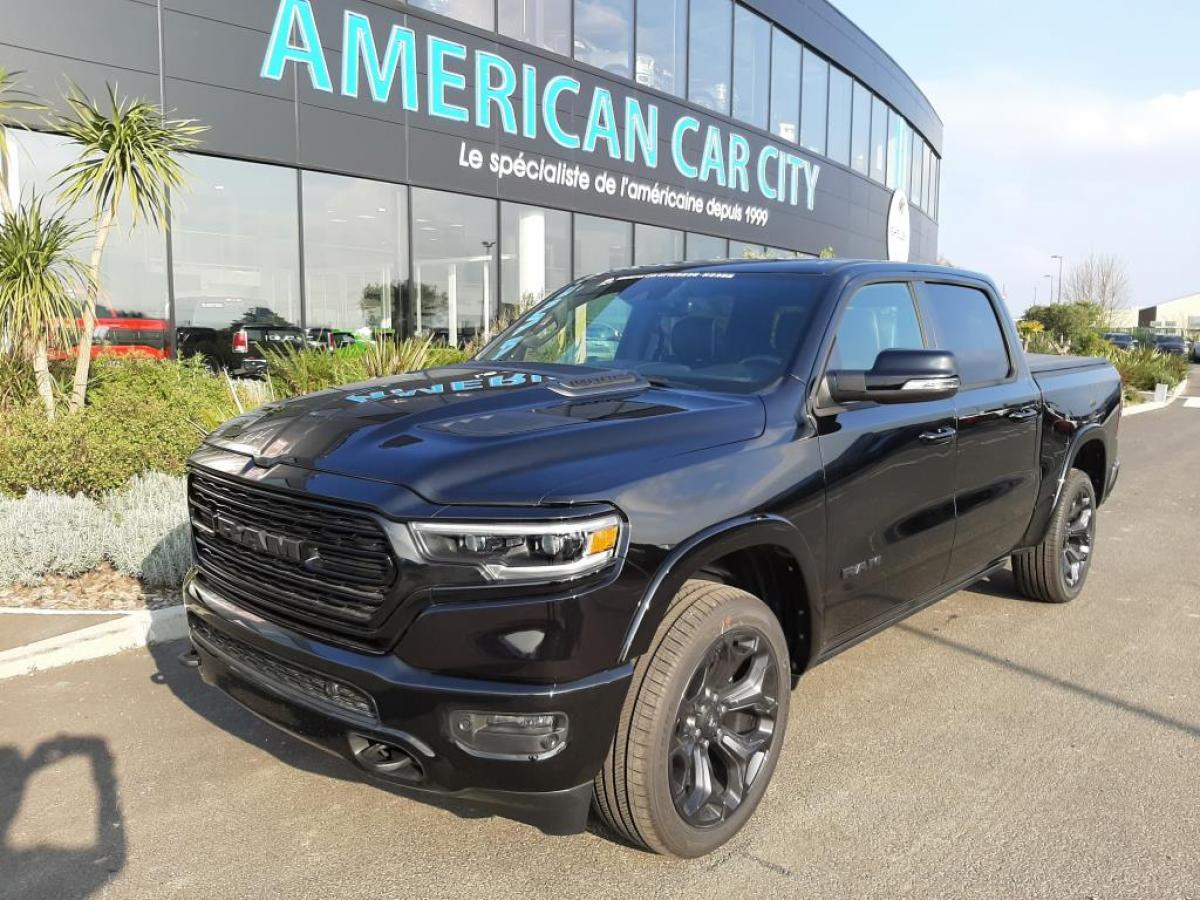 DODGE RAM 1500 CREW LIMITED BLACK PACKAGE 2020