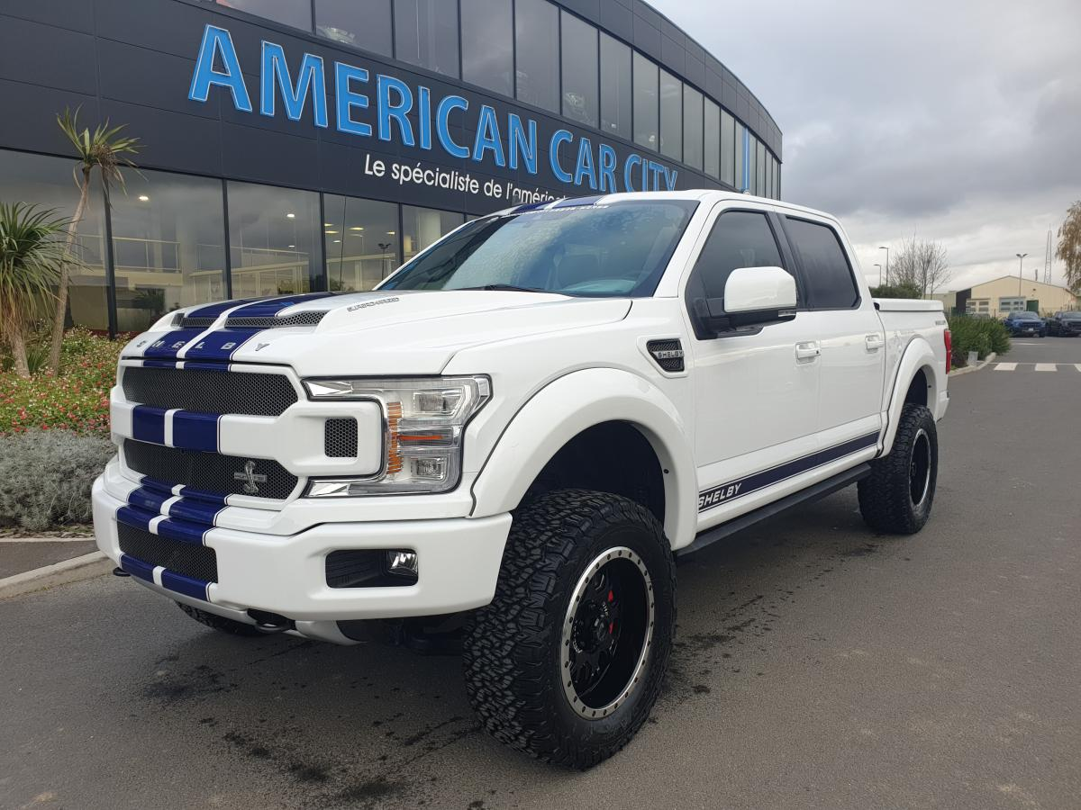 FORD F150 Supercrew shelby v8 5.0 Supercharged