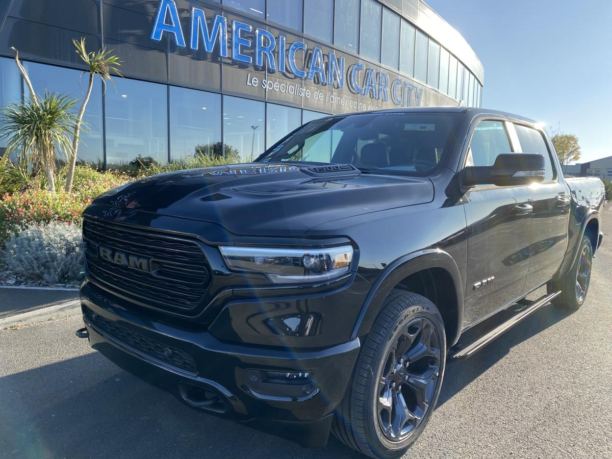 DODGE RAM 1500 CREW LIMITED BLACK PACKAGE BOX 2020