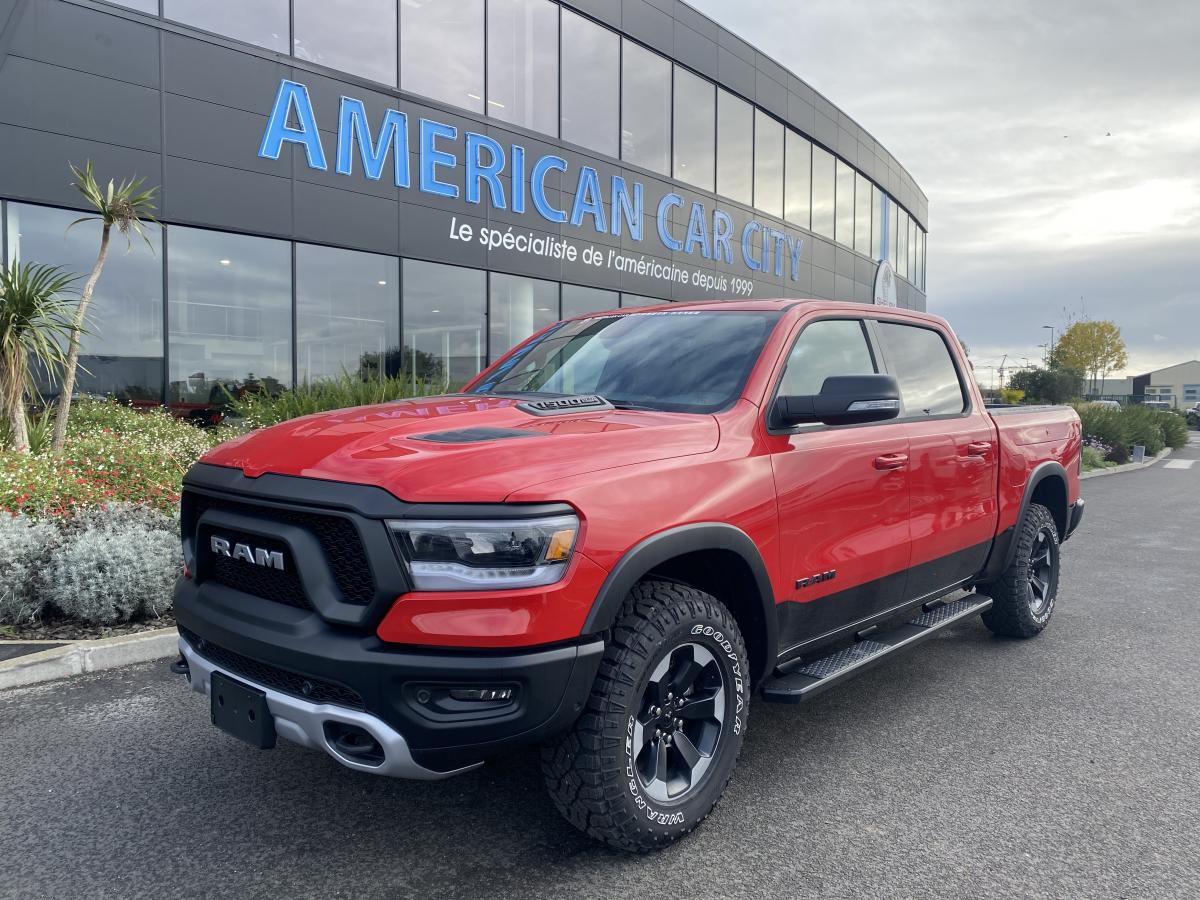 DODGE RAM 1500 CREW REBEL AIR RAMBOX 2021