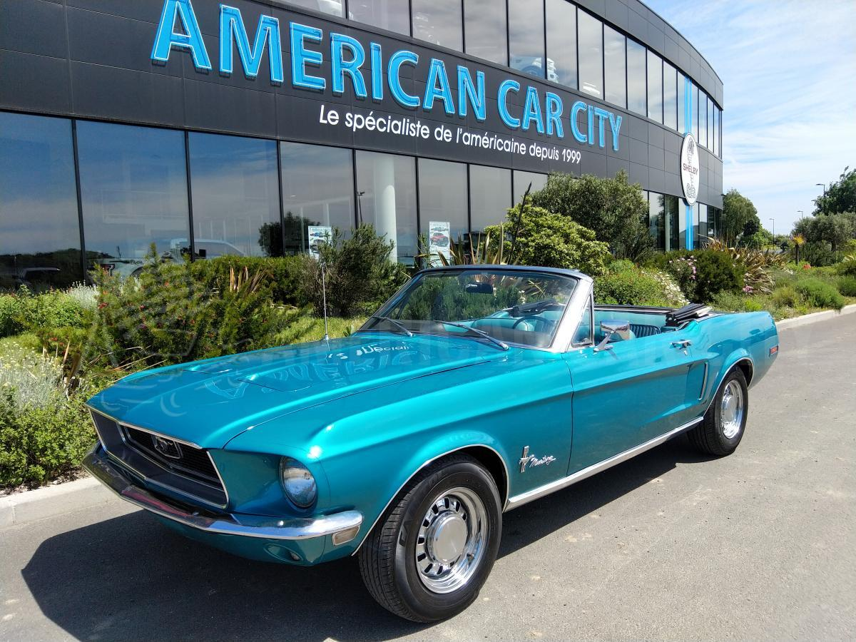FORD MUSTANG cabriolet 302
