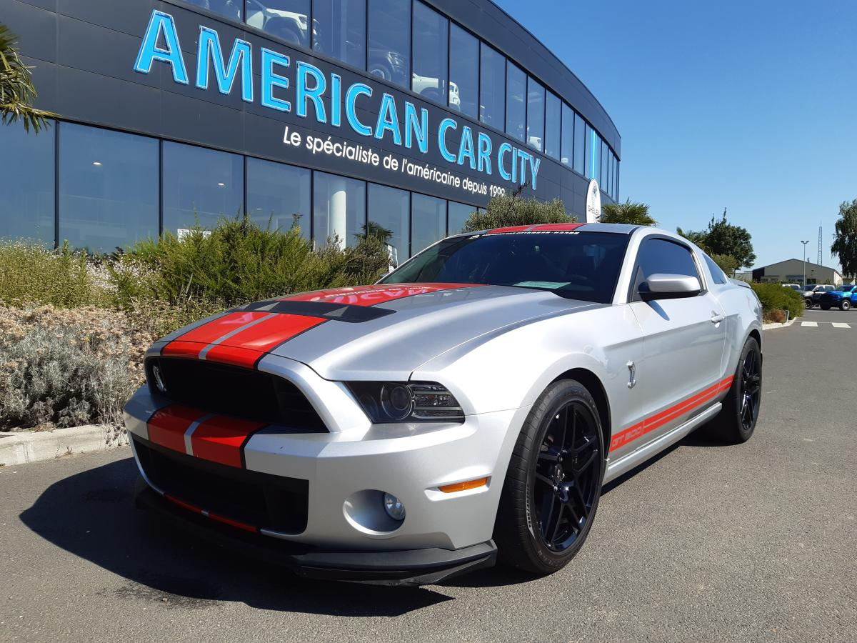 FORD MUSTANG Shelby GT500 V8 5.8L 662ch 2014