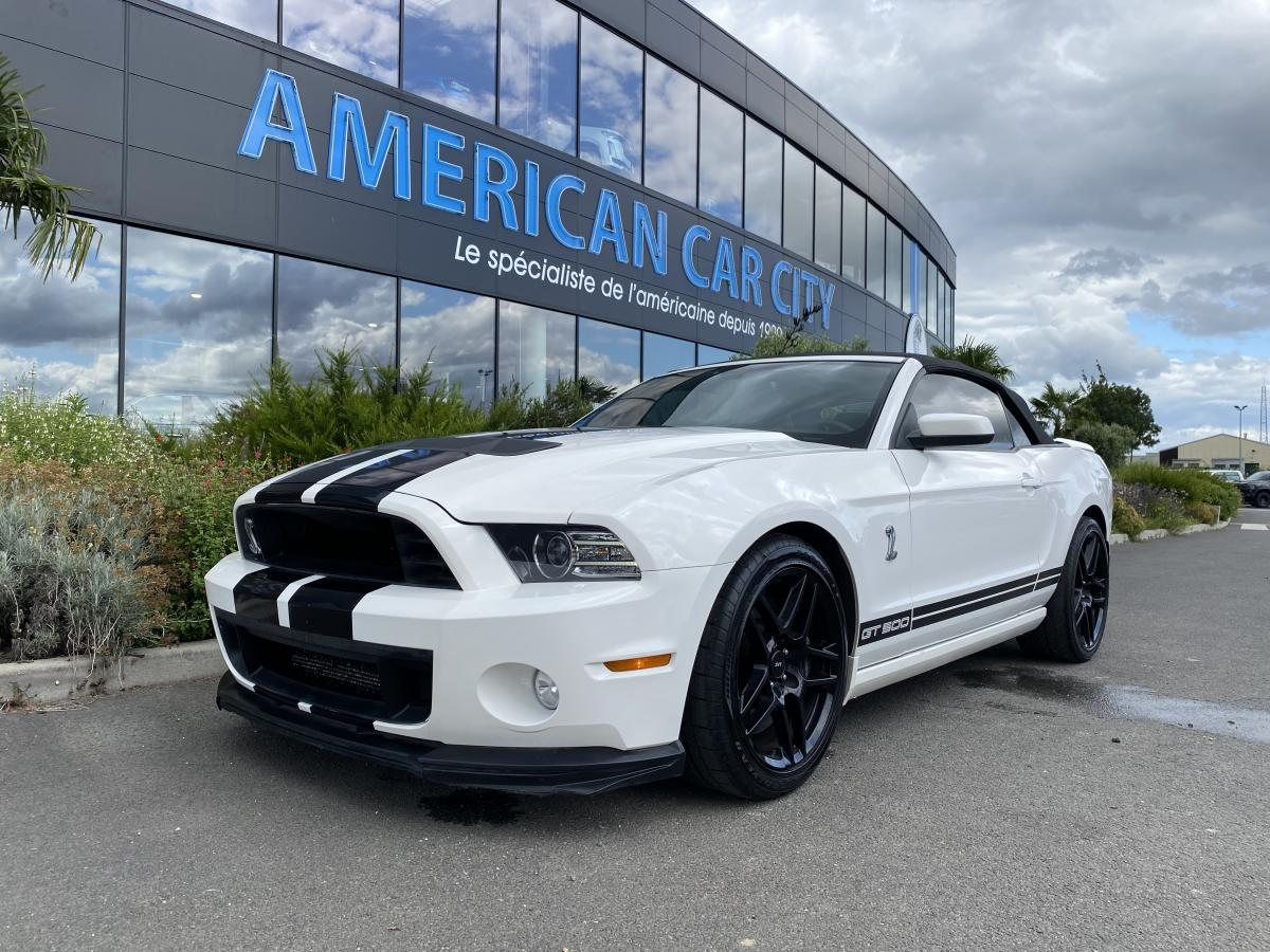 FORD MUSTANG Shelby GT500 CAB V8 5.8L 2013
