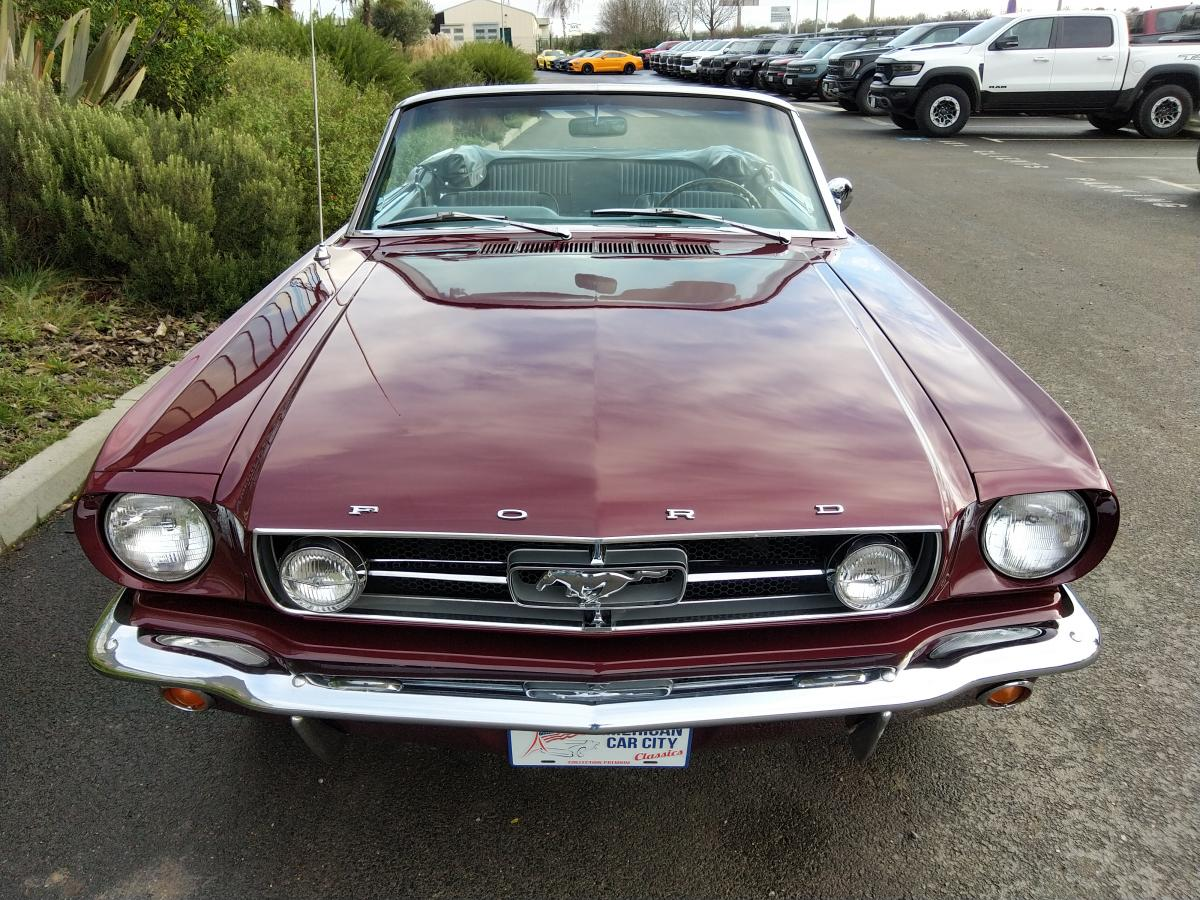 FORD MUSTANG CABRIOLET GT code A