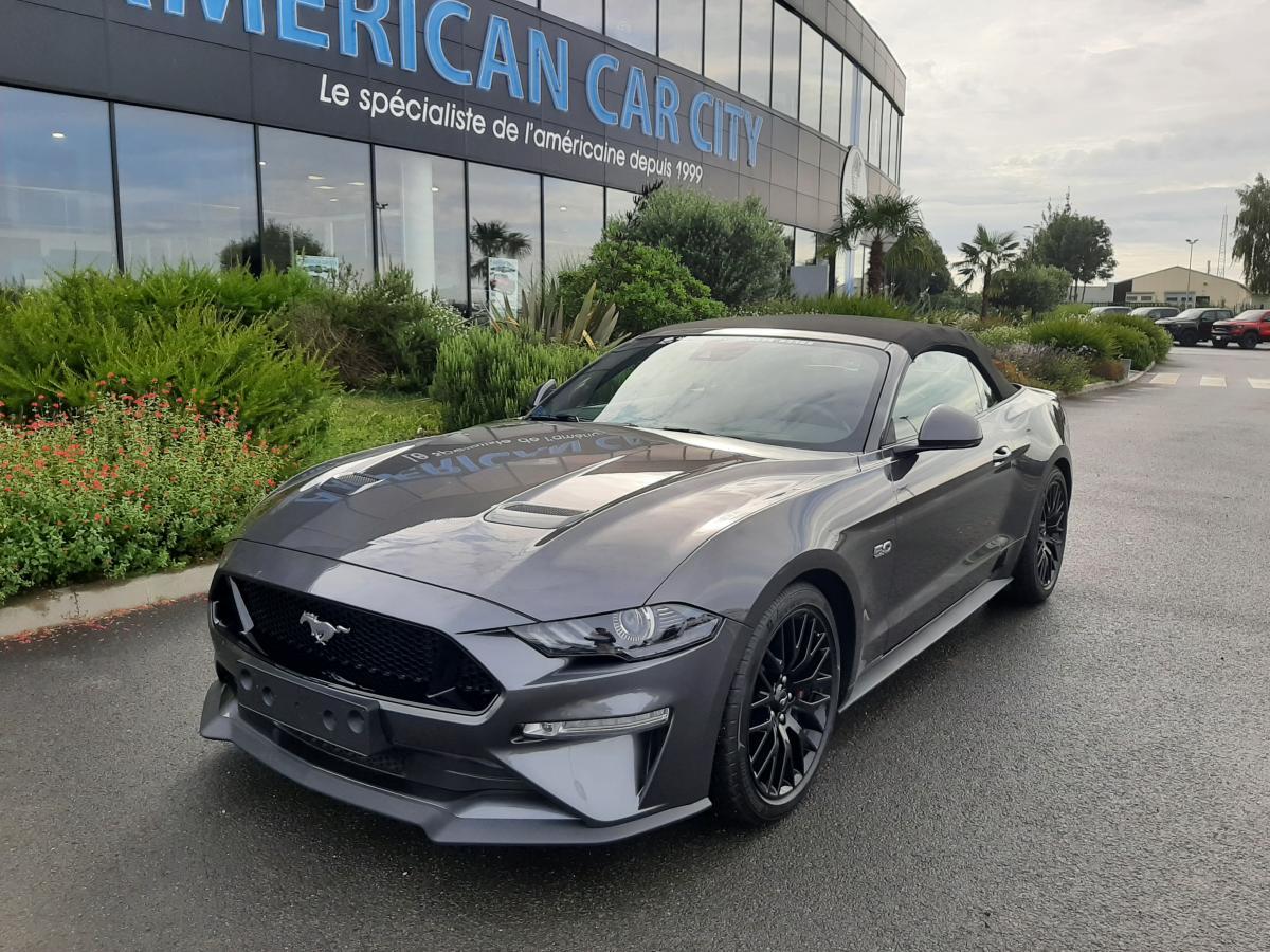 FORD MUSTANG GT CABRIOLET V8 5.0L BVA10 2018