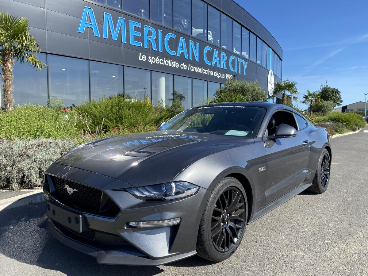 FORD MUSTANG Fastback GT 5.0L V8 450ch