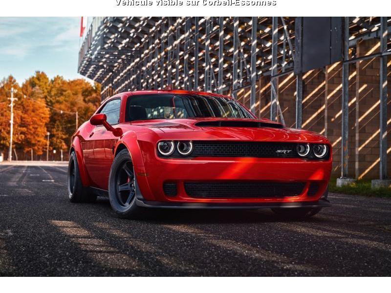 DODGE CHALLENGER SRT DEMON V8 6.2L BVA