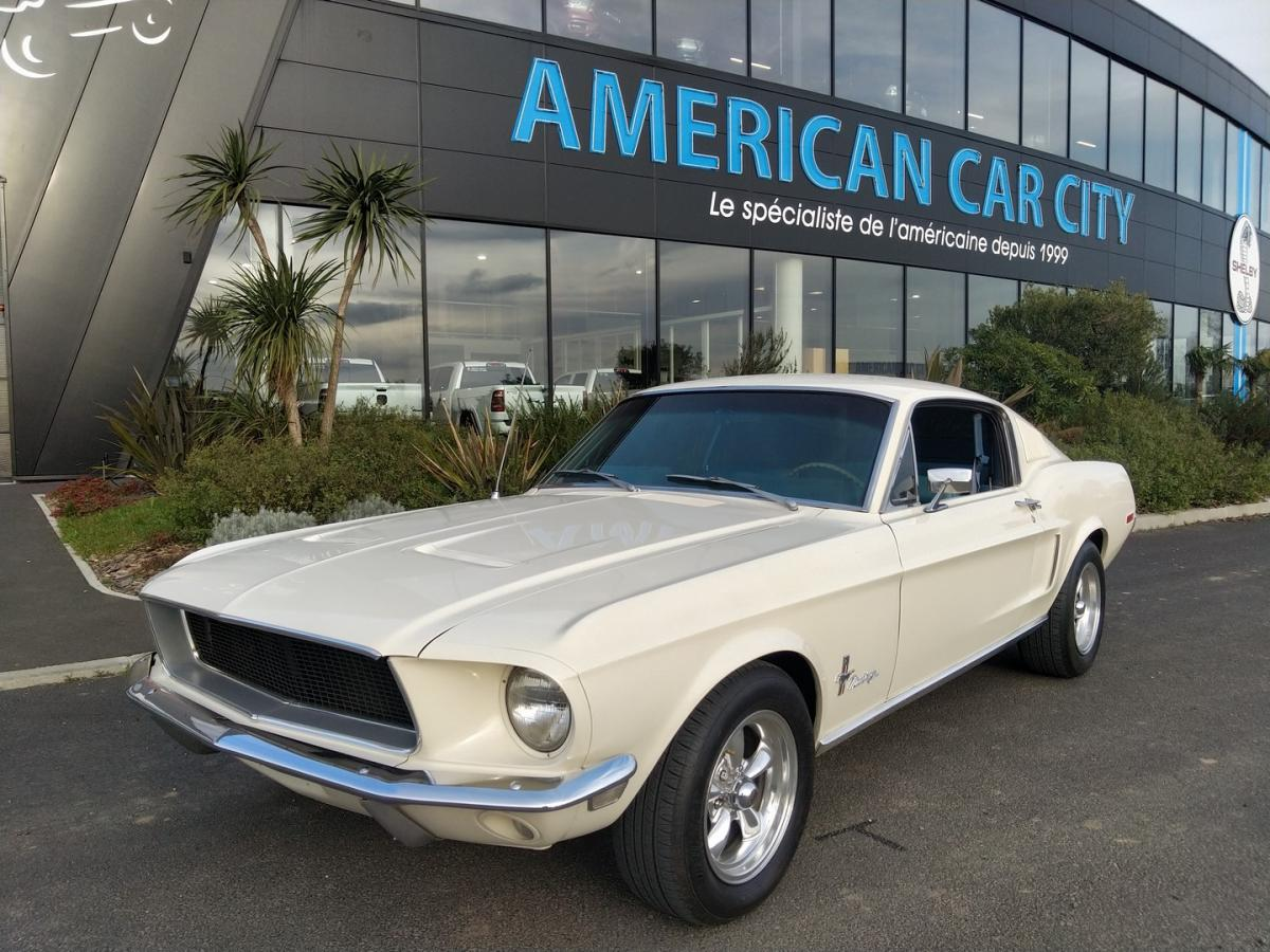 FORD MUSTANG Fastback 1968 code C