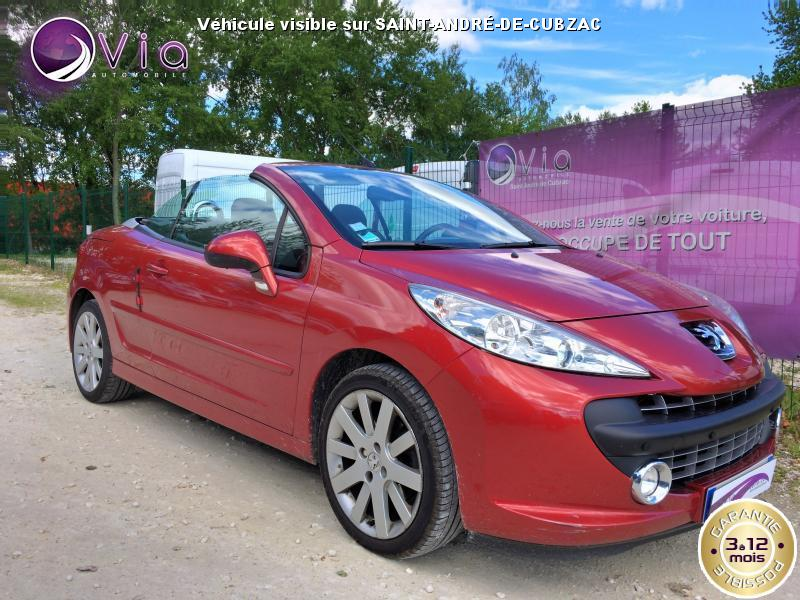 PEUGEOT-207- CC 1.6 HDi 110 SPORT PACK COUPE CABRIOLET